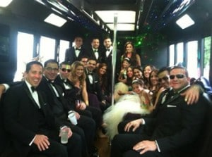 Royal Oak limo bus