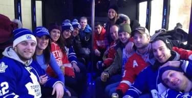Detroit Party Buses