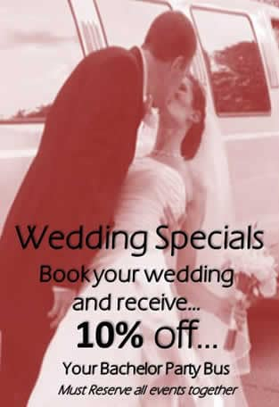 Wedding Limo Specials