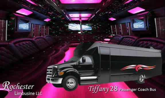 Book a Party Bus Limo in Rochester Hills, MI