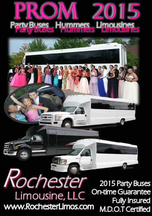 Detroit Prom Party Bus Limo Specials