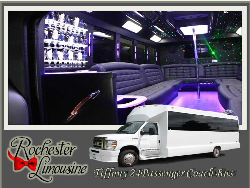 Tiffany Party Bus 24 Passenger