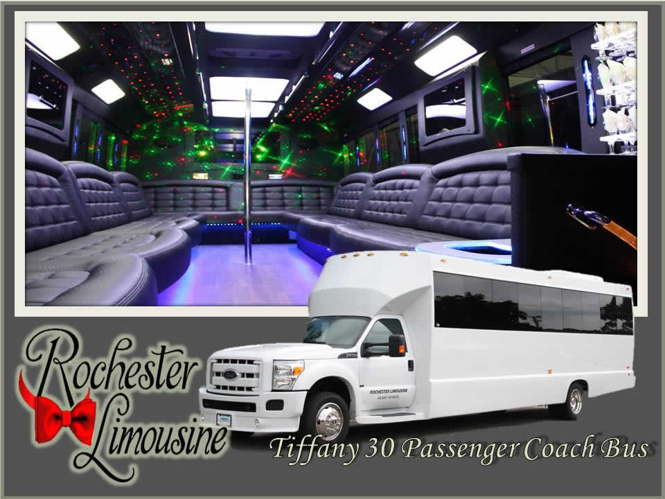 Detroit Tiffany 30 Passenger Party Bus