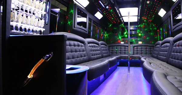 Sterling Heights Party Bus for Your Bachelor Party