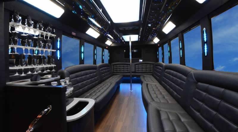 Pontiac Limo Bus