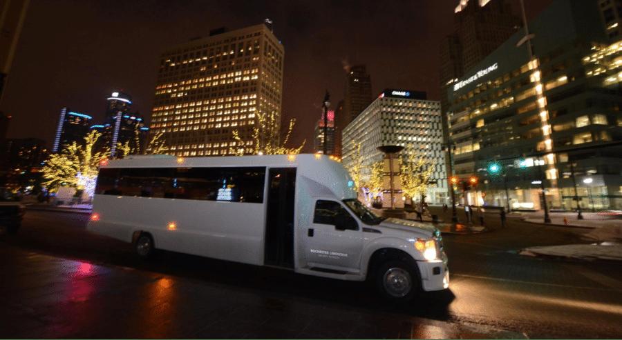 Reserve a Detroit Limo Bus
